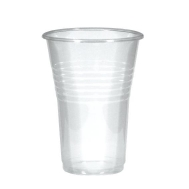 Ποτήρι πλαστικό νερού διάφανο 200ml 100τεμ